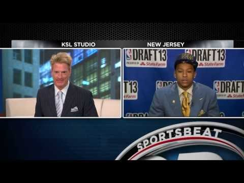 Trey Burke interview after 2013 NBA Draft