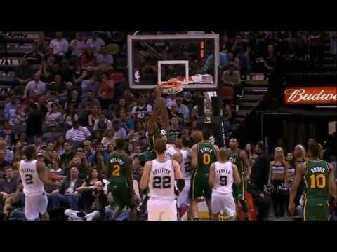 Utah Jazz Top 10 Plays of the 2013 Season