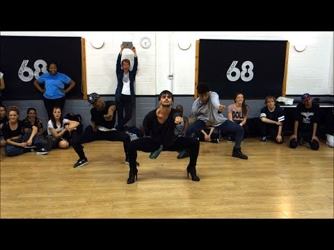 "YANIS MARSHALL CHOREOGRAPHY ""RIDE"" CIARA. CLASS IN LONDON STUDIO68  FEAT SISCO GOMEZ & KASH POWELL"
