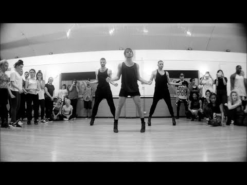 "YANIS MARSHALL CHOREOGRAPHY. ""ON THE RUN"" BEYONCE JAY Z. FEATURING ARNAUD & MEHDI. STUDIO68 LONDON"